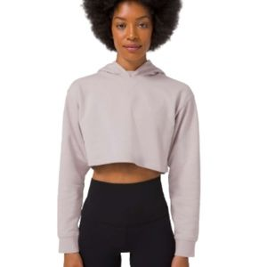 Lululemon All Yours Cropped Sweatshirt Lilac 12